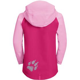 Jack Wolfskin Tucan Jacket Kids pink peony